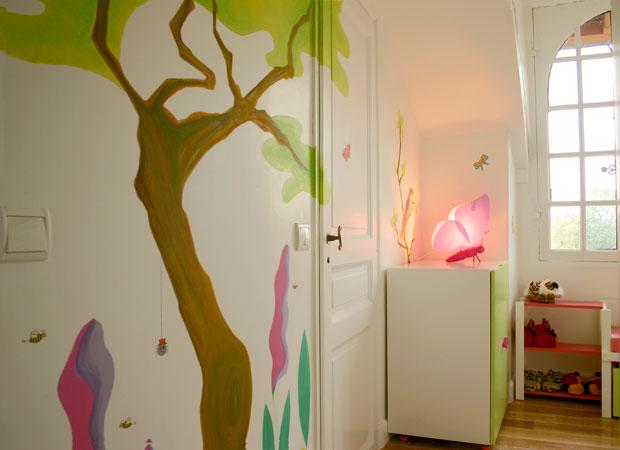 Sabine suisse stickers et d coration de for Peinture acrylique murale lavable